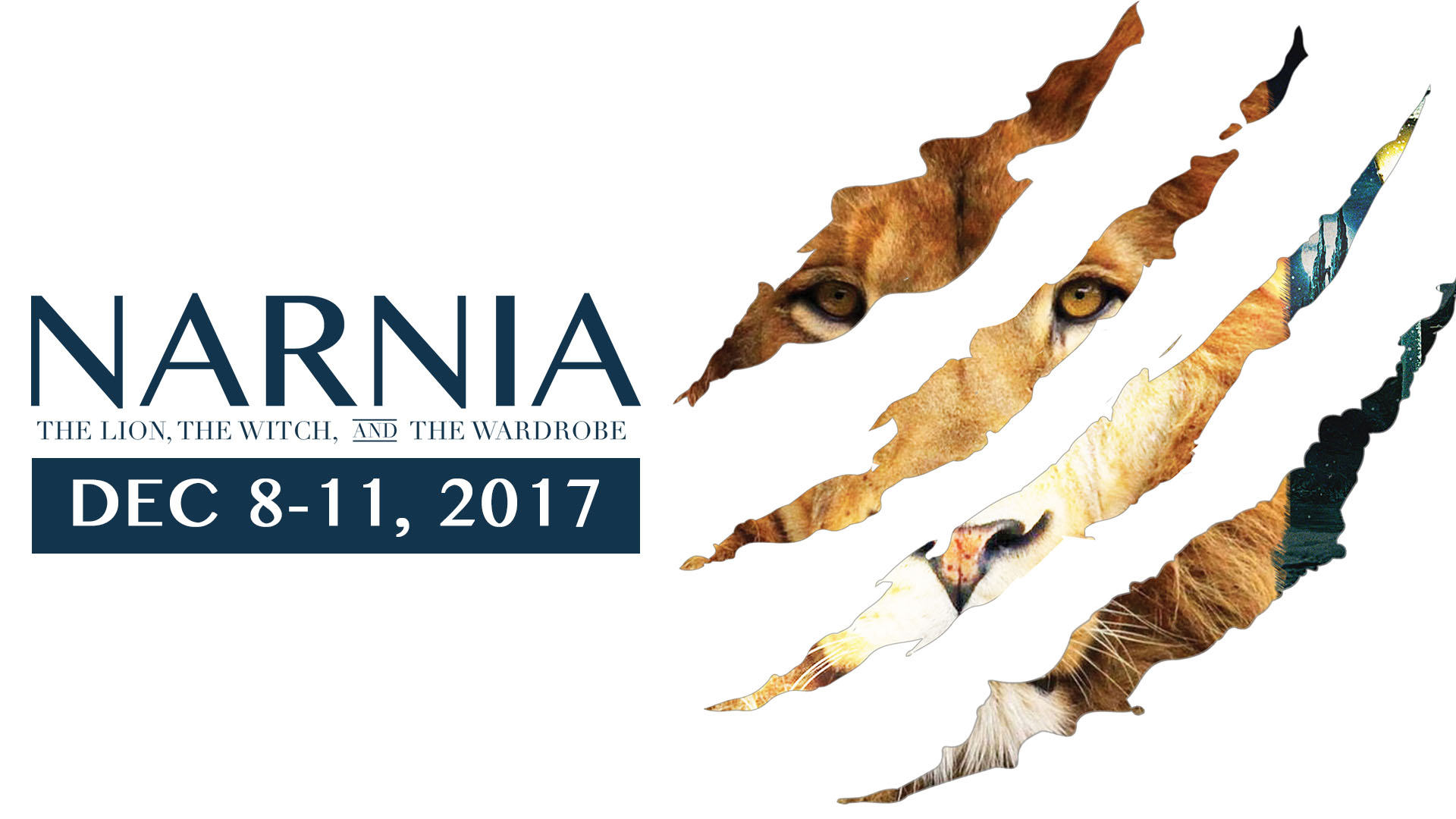 Tickets now on sale for Faith Center's Christmas Dessert Theater: Narnia: The Lion, The Witch, and The Wardrobe