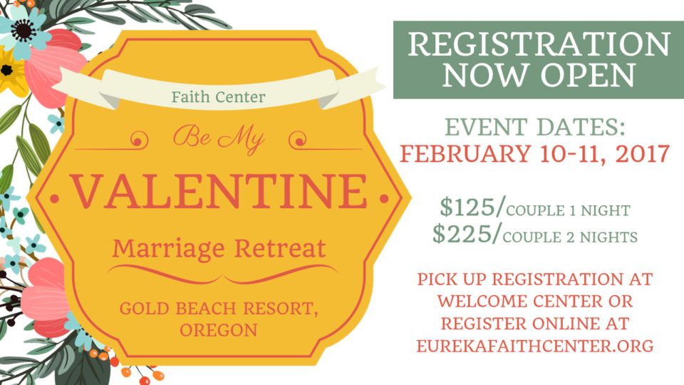 Be My Valentine Marriage Retreat Registration Now Open