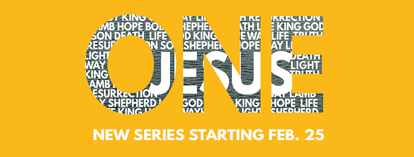 New Sermon Series: One