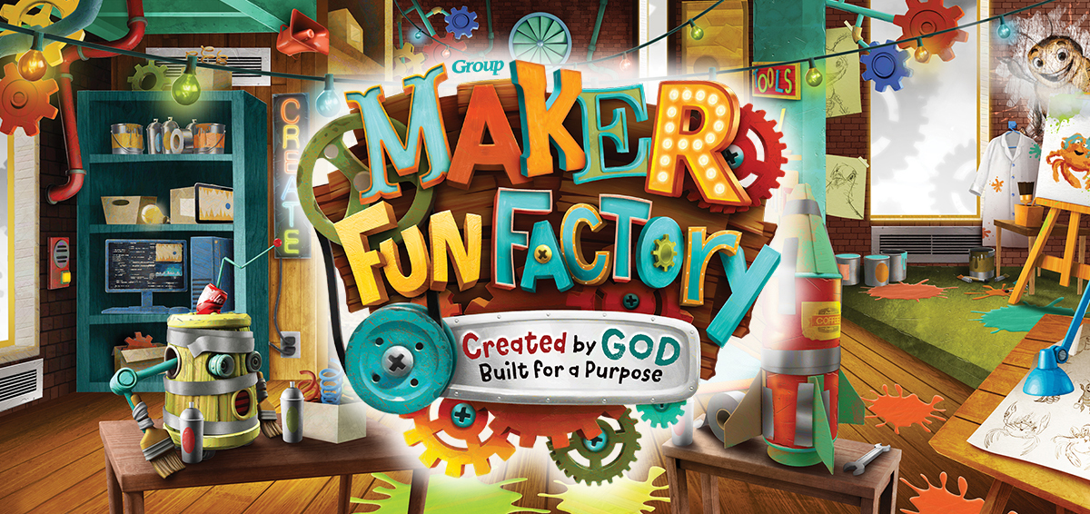 Maker Fun Factory: Vacation Bible School 2017