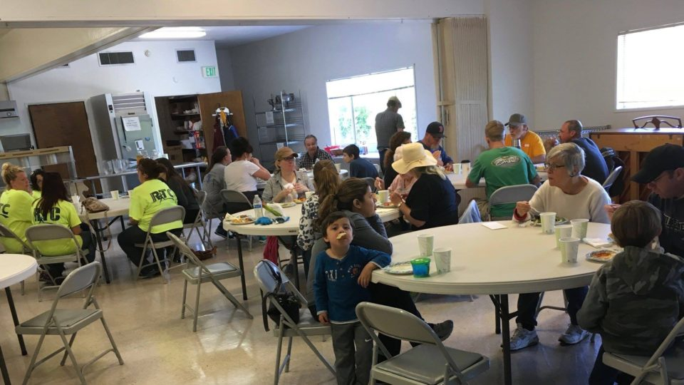 Faith Center volunteers serve local seniors